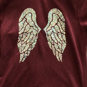 Victoria Secret fleece zip up sweater